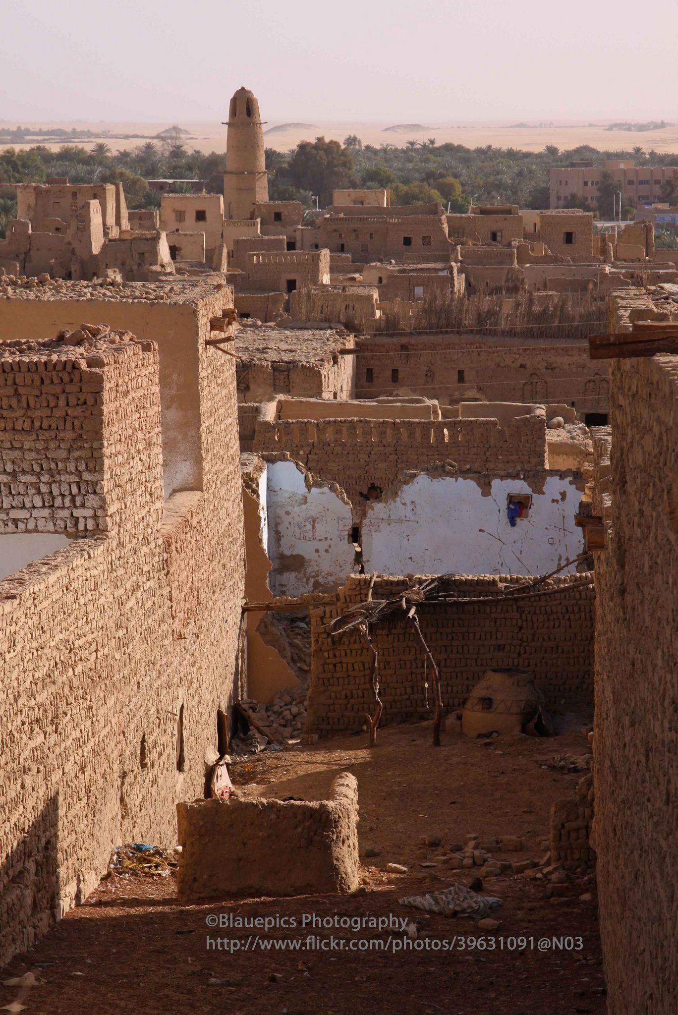 Dakhla Oasis, Al Qasr village