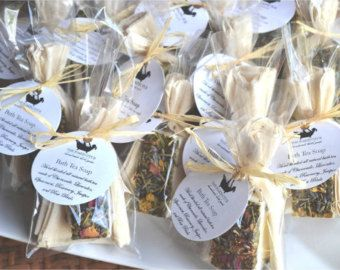 set of 50 bath tea soap favors bridal shower favors wedding favors baby shower favors tea party favors