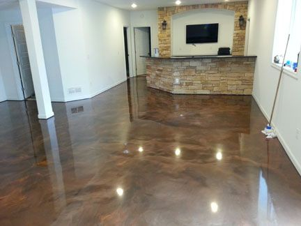 Cozy Epoxy Basement Floor Paint & Cozy Epoxy Basement Floor Paint | Kitchen remodel | Pinterest ...