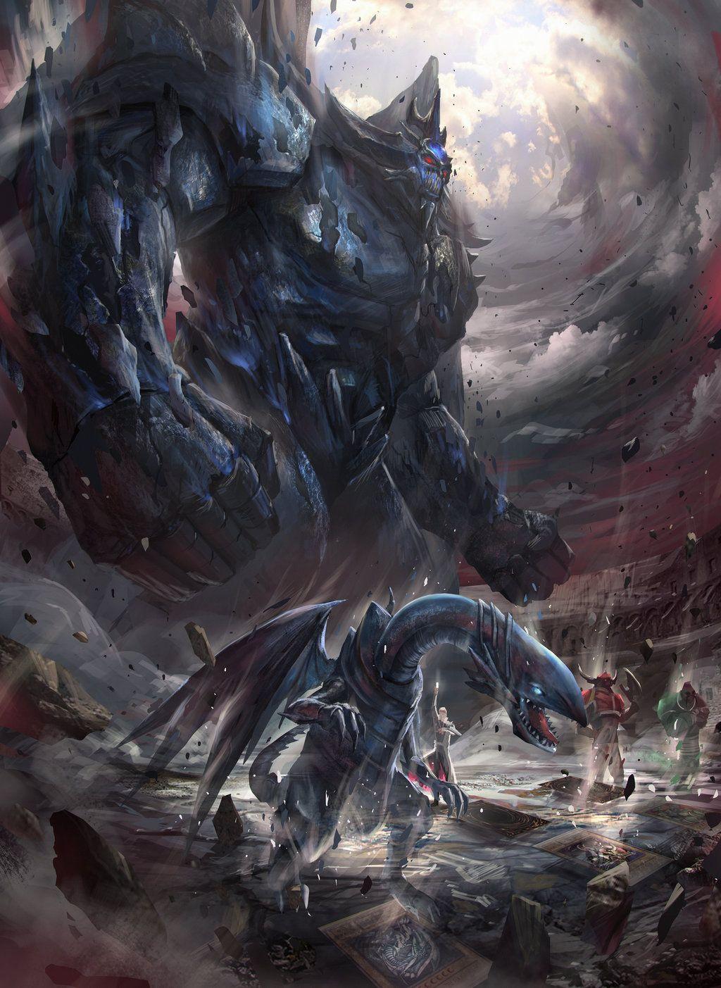 Epic kaiba lineup yugioh monsters obelisk the tormentor