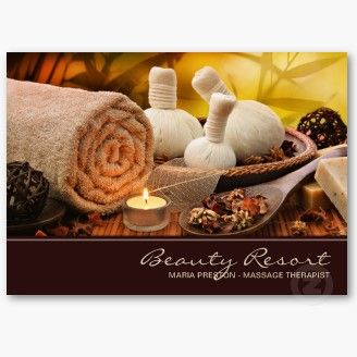 Professional massage business card templates outdoor spa business professional massage business card templates fbccfo Image collections
