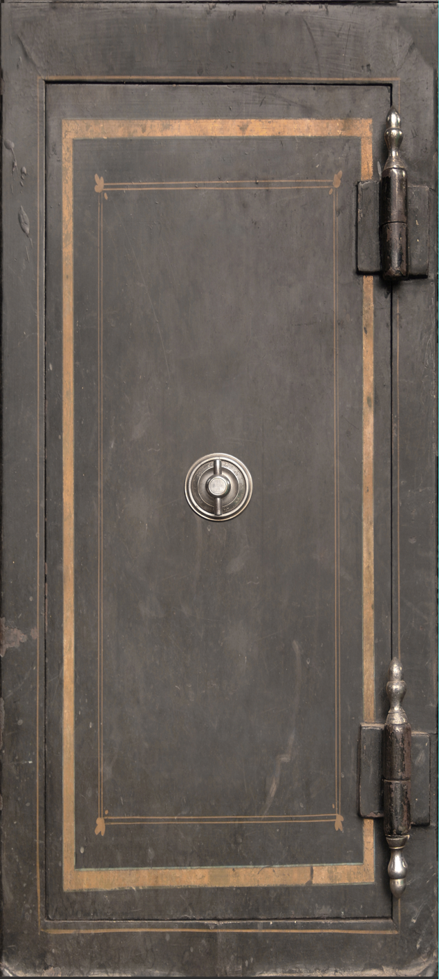 Vintage Safe Door Wrap