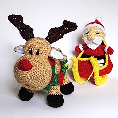 Amigurumis Navidad Crochet : Patrones amigurumi pinteres