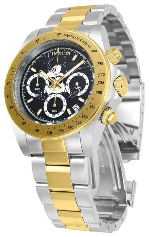 899f668b1d4 Invicta Disney Limited Edition Mickey Mouse Men s Quartz Stainless ...