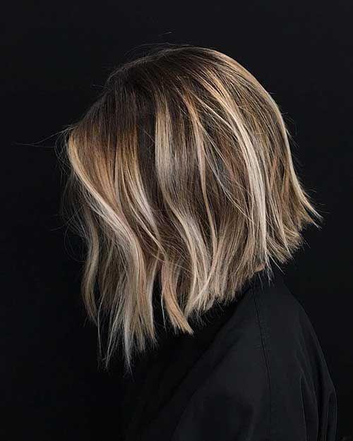25 besten kurzen dunkelblonden Frisur Bilder #darkblondehair