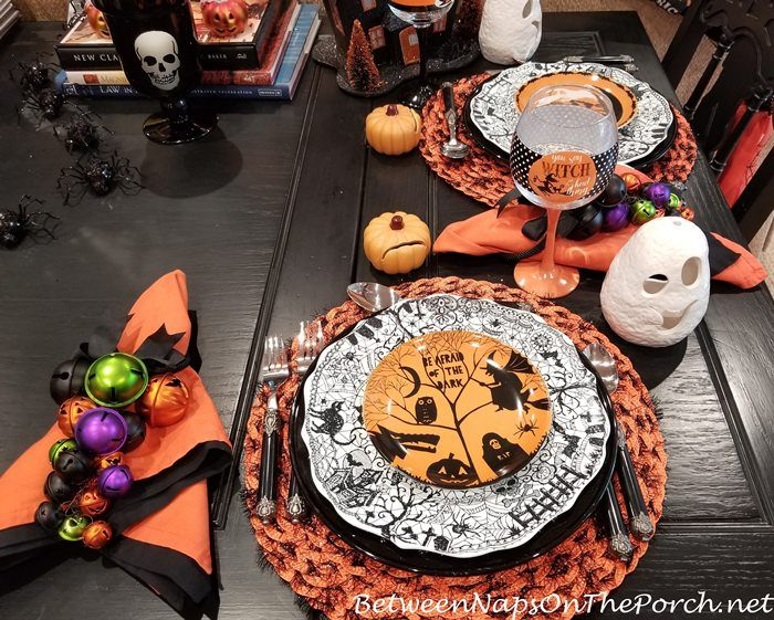 3 Whimsical Halloween Table Settings