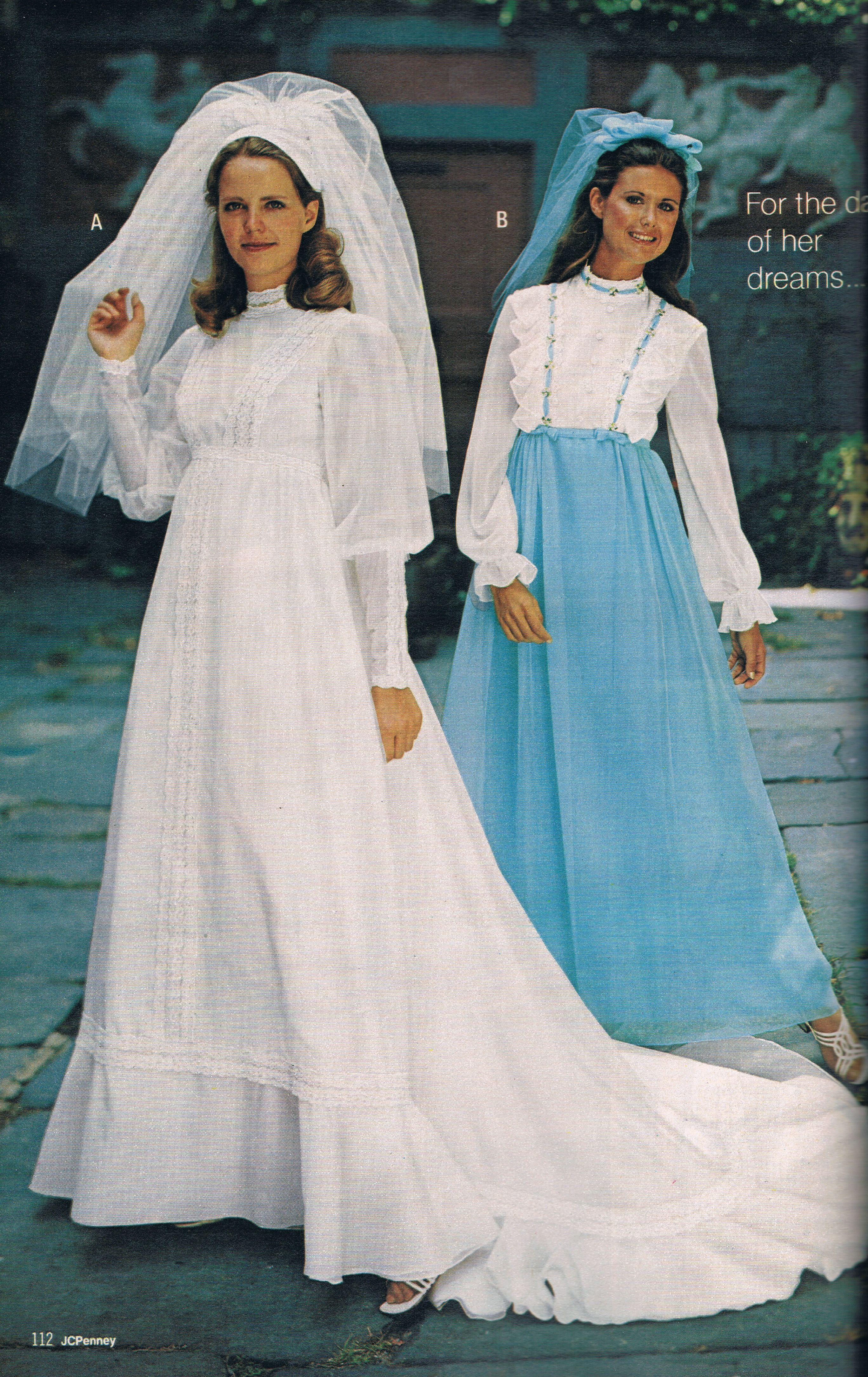 Penneys catalog 1973 | Wedding Gowns Vintage | Pinterest | Novios ...
