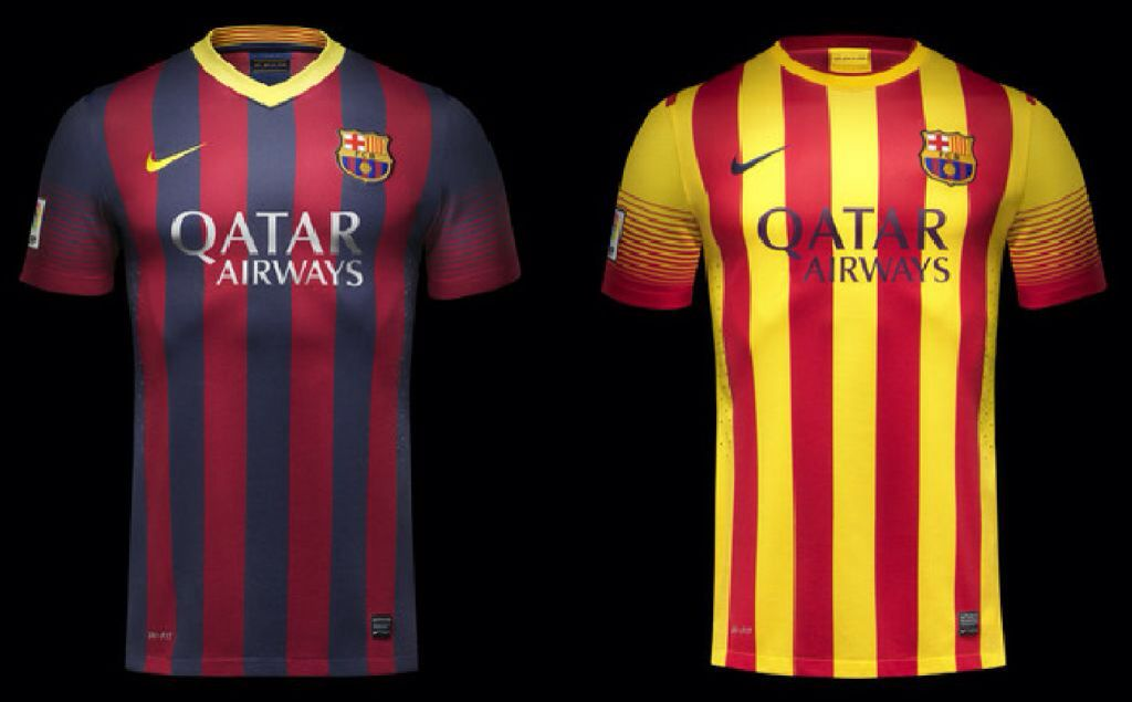 online store 84ee3 a4400 Barcelona Home and Away kit | BEST SOCCER KITS | Soccer kits ...