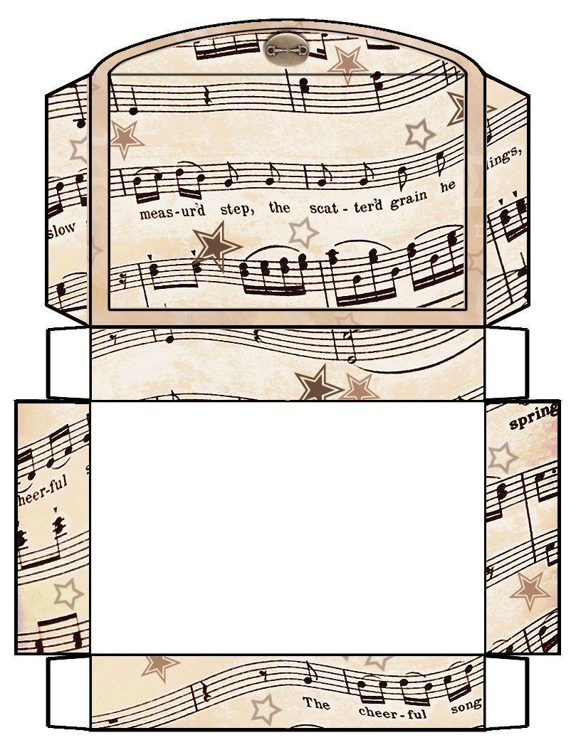 ArtbyJean - Vintage Sheet Music: Set 003 - Vintage Sheet Music Free ...
