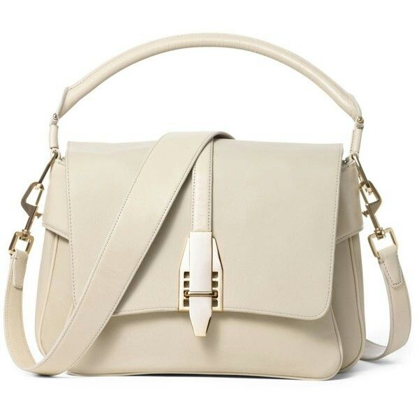 Cream purse... so classy!