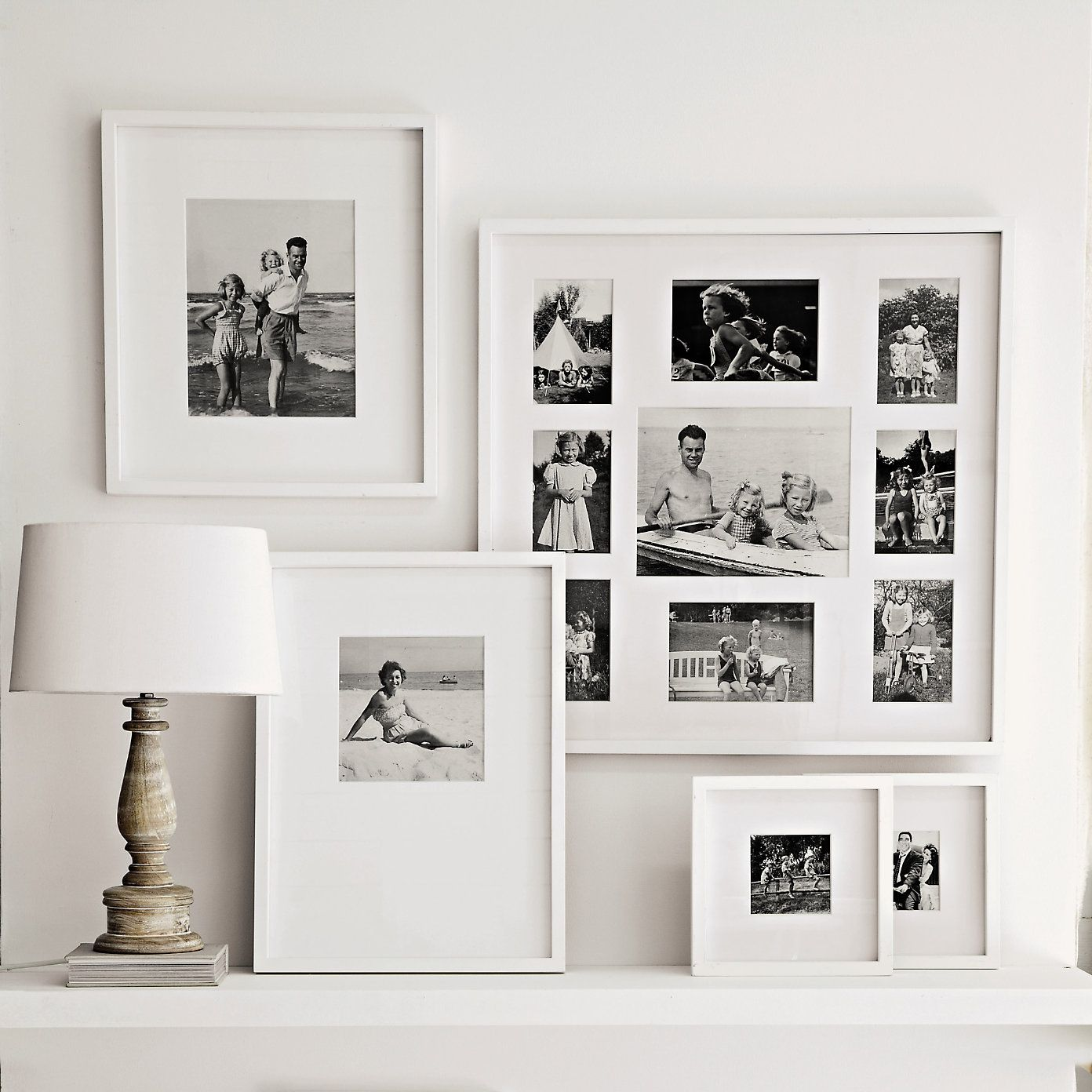 Gallery Wall Love The Clean Simplicity Of B&W Pics And
