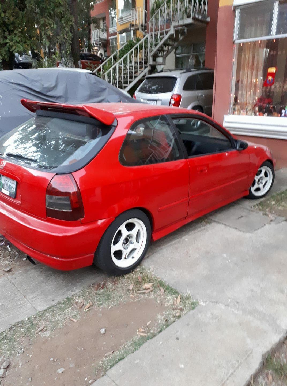 Red Ek Hatchback White Jr3 Honda Civic Jdm Honda Honda S