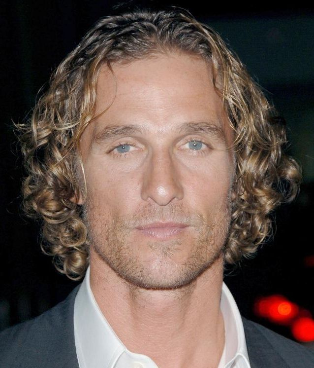 matthew mcconaughey hair style matthew mcconaughey curly hair pictures photos and images 1694