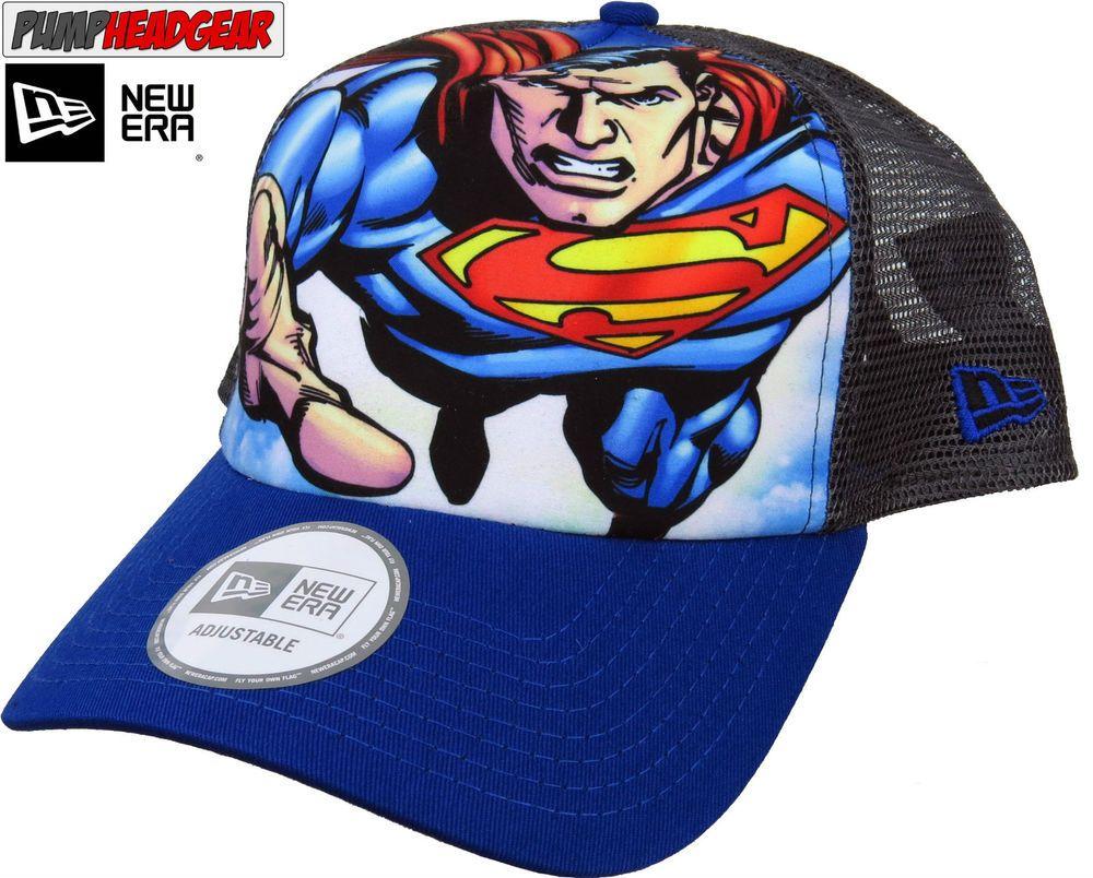 new product 0018f a9120 DC Comics Superman New Era SuperHero Trucker Cap