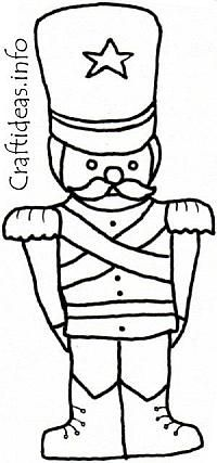 coloring pages of toy soldier - photo#12