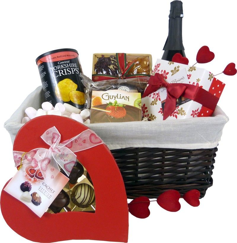 Luxury Valentines Day Food Hampers And Gifts At Amazing Prices