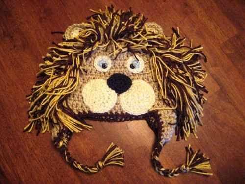 Gorro tejido crochet de animales - Imagui