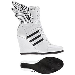 huge discount 465da fa449  p  Women s adidas Originals br    Jeremy Scott Wings Wedge Hi Shoes  p
