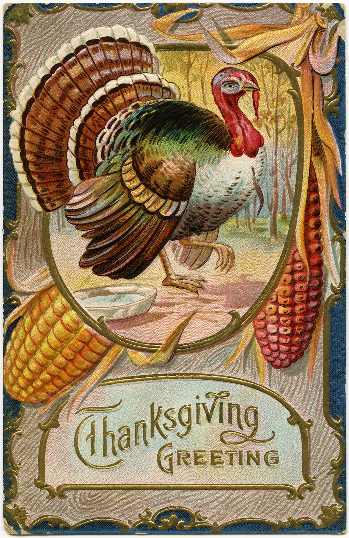 vintage thanksgiving Images Free | old Thanksgiving ...