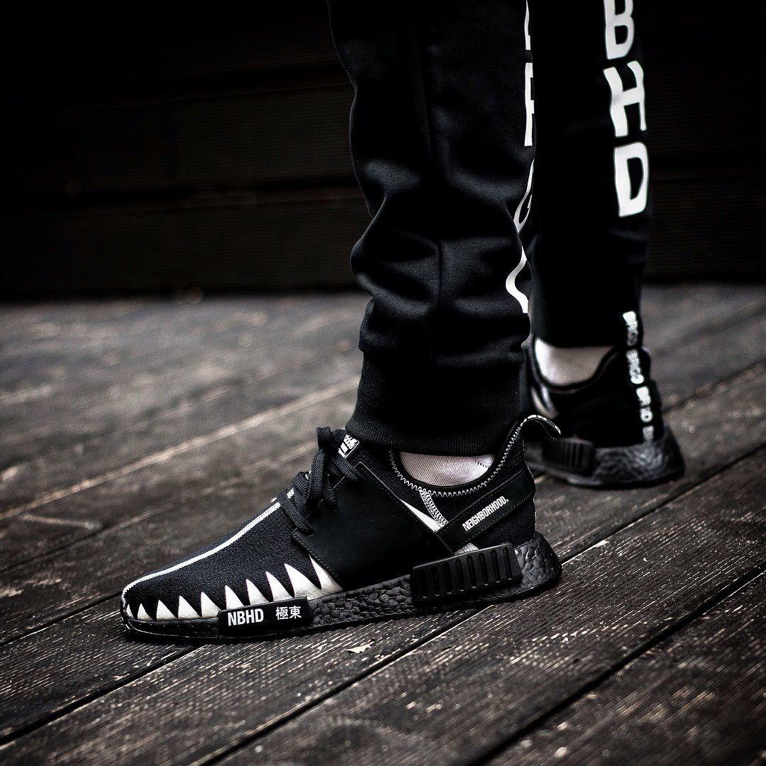 quartiere x adidas originali nmd r1 moda pinterest nmd