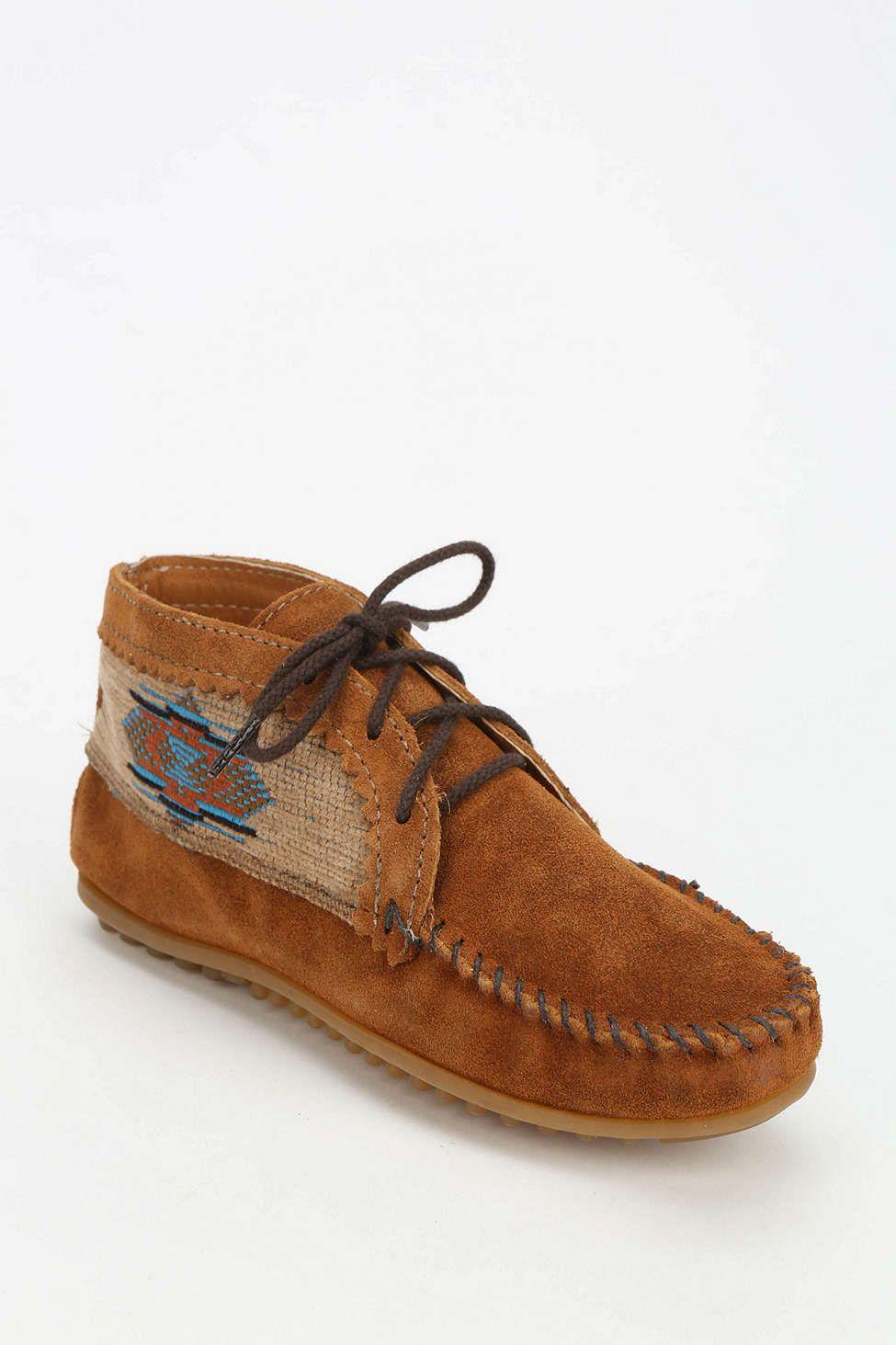 Minnetonka El Paso Geo-Panel Ankle Boot