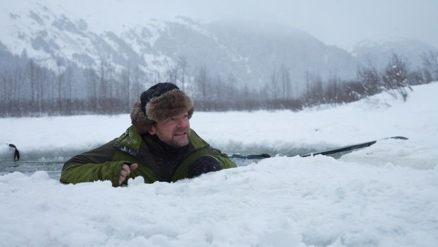 Here are three ways to survive falling into frozen waters from Les Stroud of Discovery Channel's