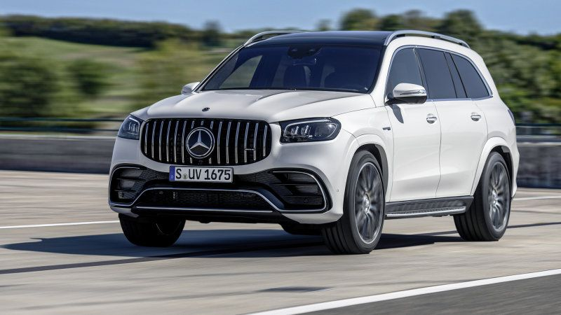 2021 Mercedes Amg Gls 63 With 600 Horsepower Unveiled At L A Auto