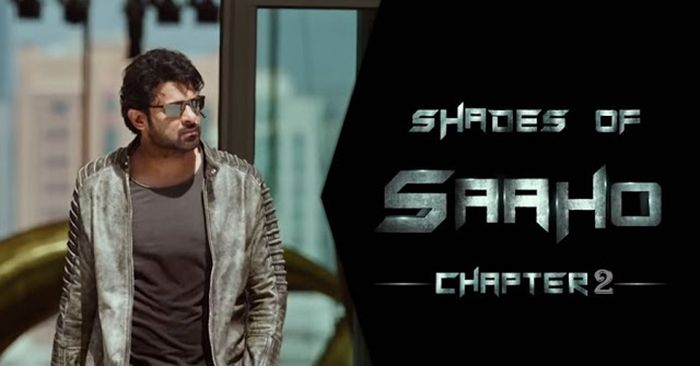 """Actor Prabhas Starrer Saaho to release the latest teaser video titled """"Shades of Saaho Chapter 2"""""""