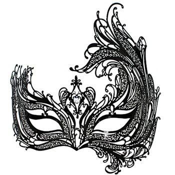 venetian masquerade masks template - Google Search