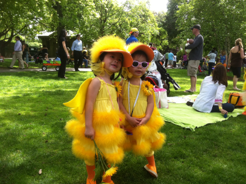 Ducking Day Parade in #Boston May 2012