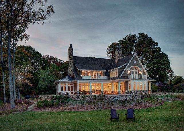Interior Design Ideas Home Bunch An Interior Design Luxury Homes Blog Lake House Waterfront Architecture House Exterior