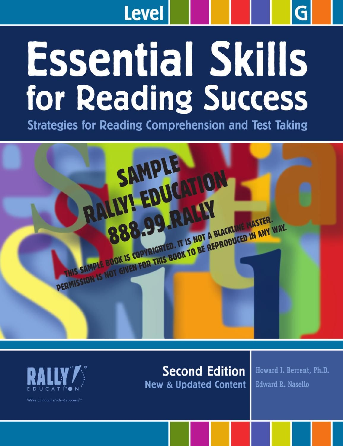 Essential Skills For Reading