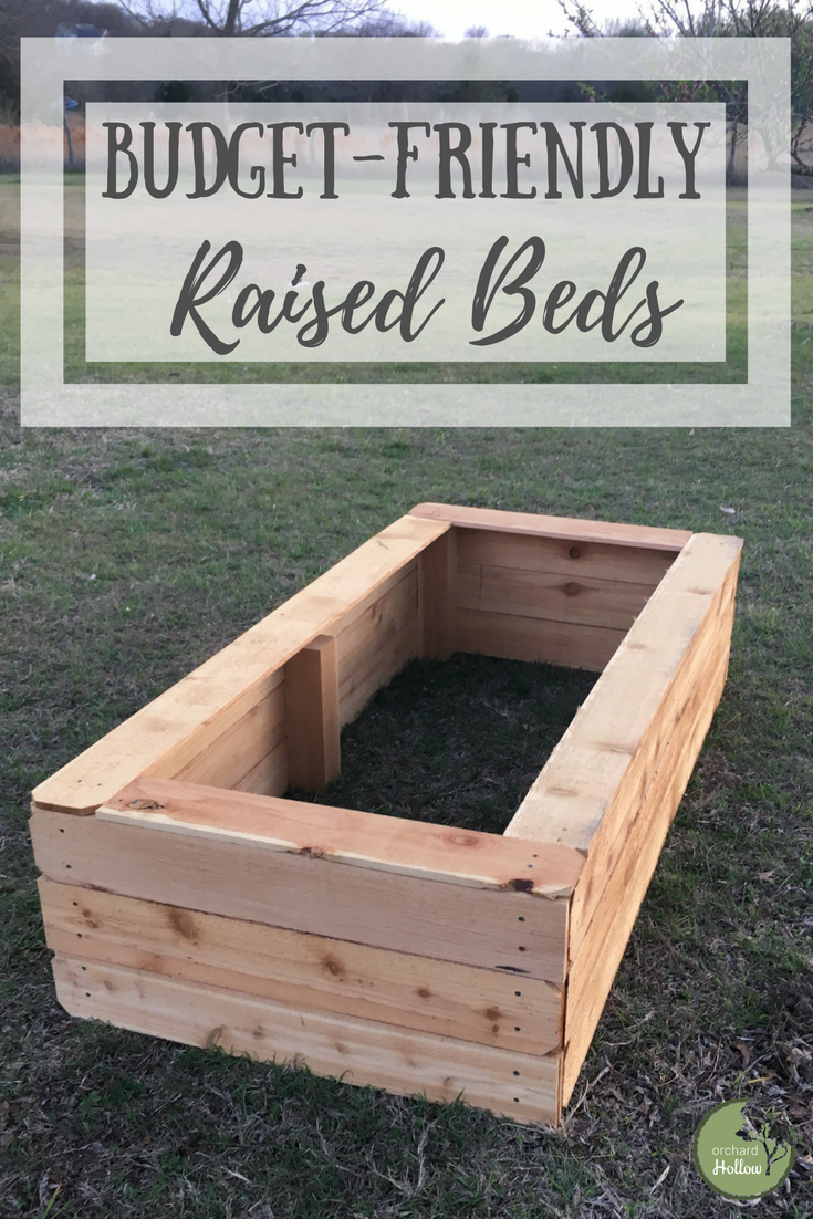 Diy Raised Garden Beds With Images Building A Raised Garden