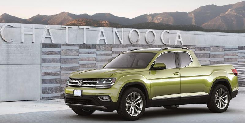 2019 Volkswagen Atlas sports muscular design Volkswagen