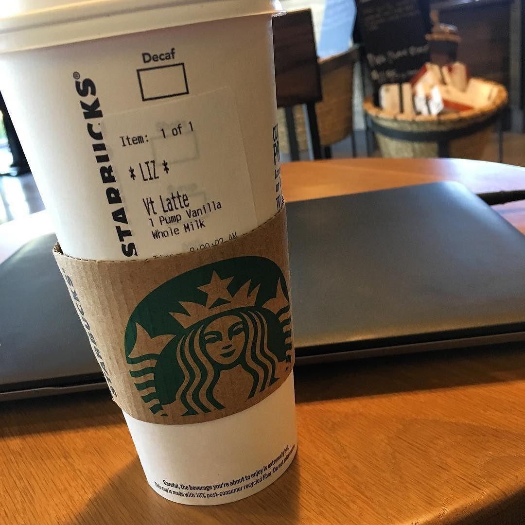 @starbucks always comes through for some quick work space!  #MobileBiz #MauiBiz #HomeBiz #MauiBoutique #StarbucksVanillaLatte