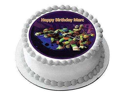 Teenage Mutant Ninja Turtles Ediblecakeorcupcake Topper Https Www Amazon Com Dp B0764l4tg7 Ref Cm Birthday Cake Toppers Edible Cake Toppers Cake Toppers