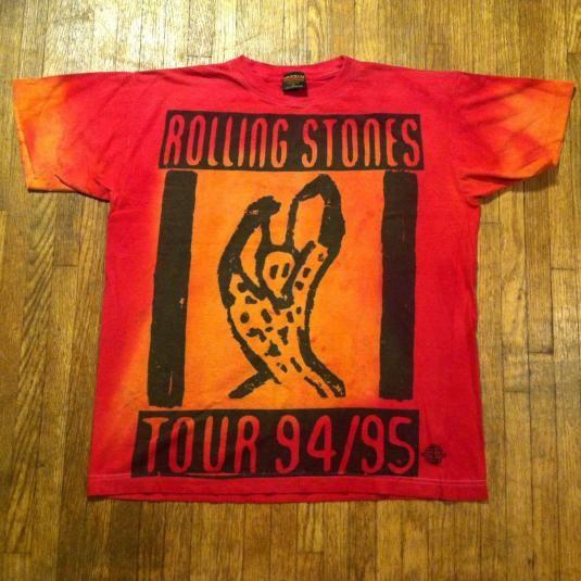 8543732b Vintage 1994/1995 Rolling Stones Voodoo Lounge t-shirt | Band tees ...