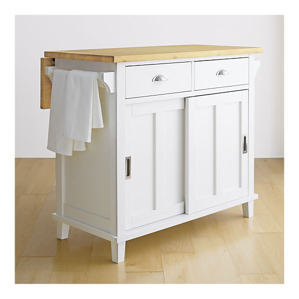Belmont White Kitchen Island $499.00 White Kitchen Island