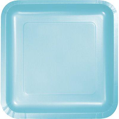 Touch of Color Pastel Blue Solid Color Square Paper Dinner Plates Wholesaleu2026  sc 1 st  Pinterest & Touch of Color Pastel Blue Solid Color Square Paper Dinner Plates ...