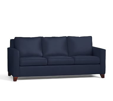 Cameron Square Arm Upholstered Deluxe Sleeper Sofa Polyester