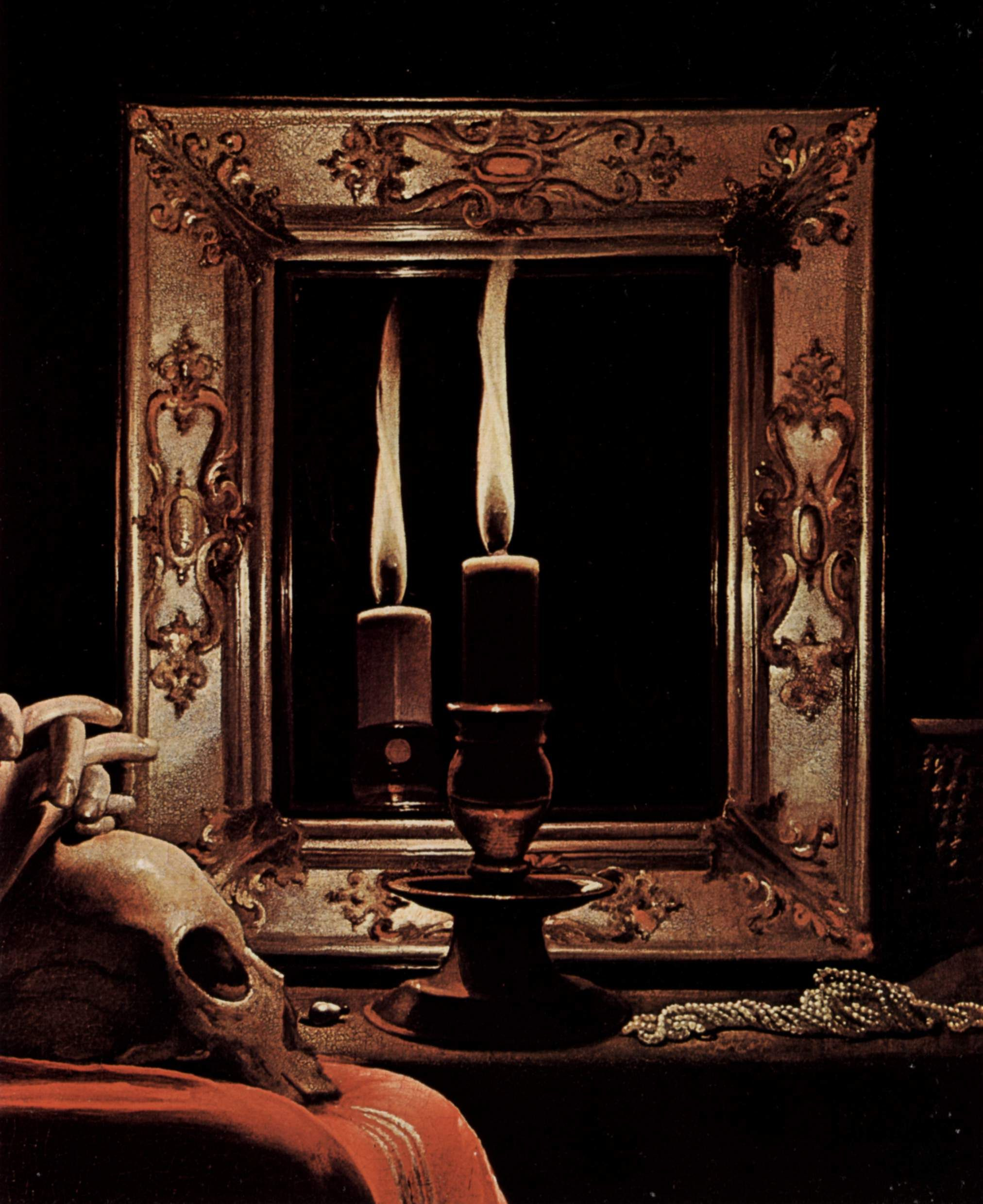 Spirit Reflections In Haunted Mirrors