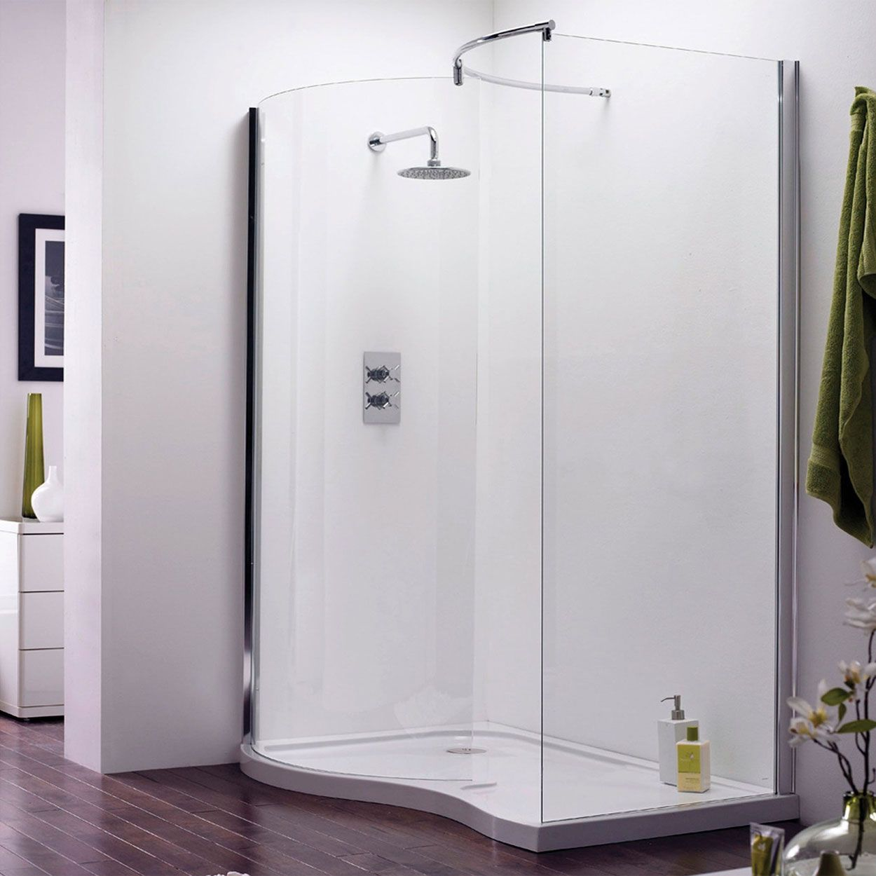 Check out our stylish Walk-in Shower Enclosures!!! Combine our wet ...