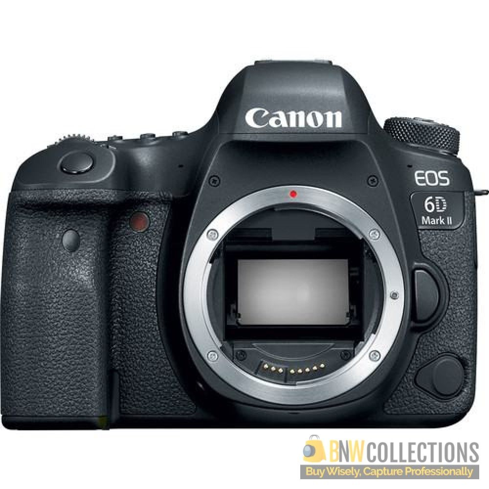 Buy Canon EOS 6D Mark II DSLR Camera (Body Only) At Rs.175,000 ...