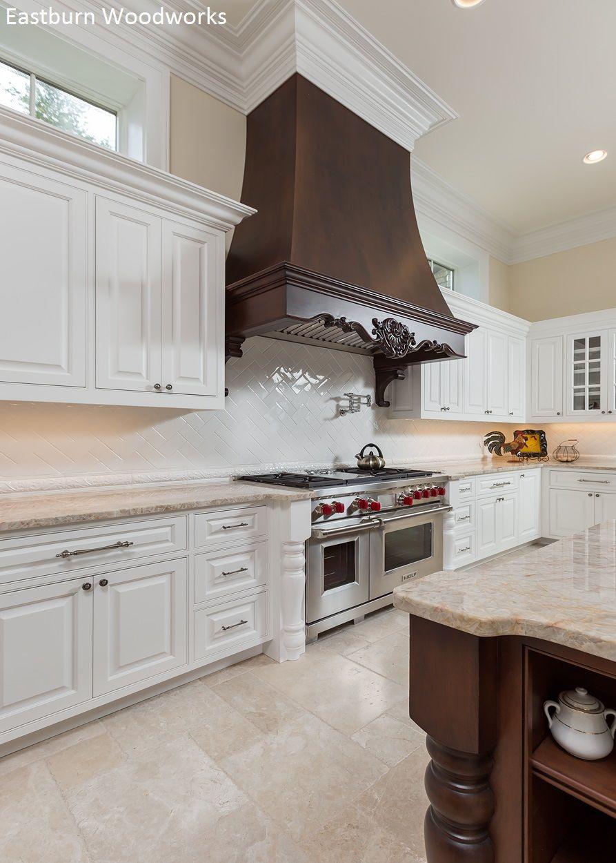 Beautiful Custom Hood Built By Eastburn Woodworks Customcabinets Customhood Kitchen Kitchencabinets Whiteki In 2020 White Kitchen Design Kitchen Cabinets Kitchen