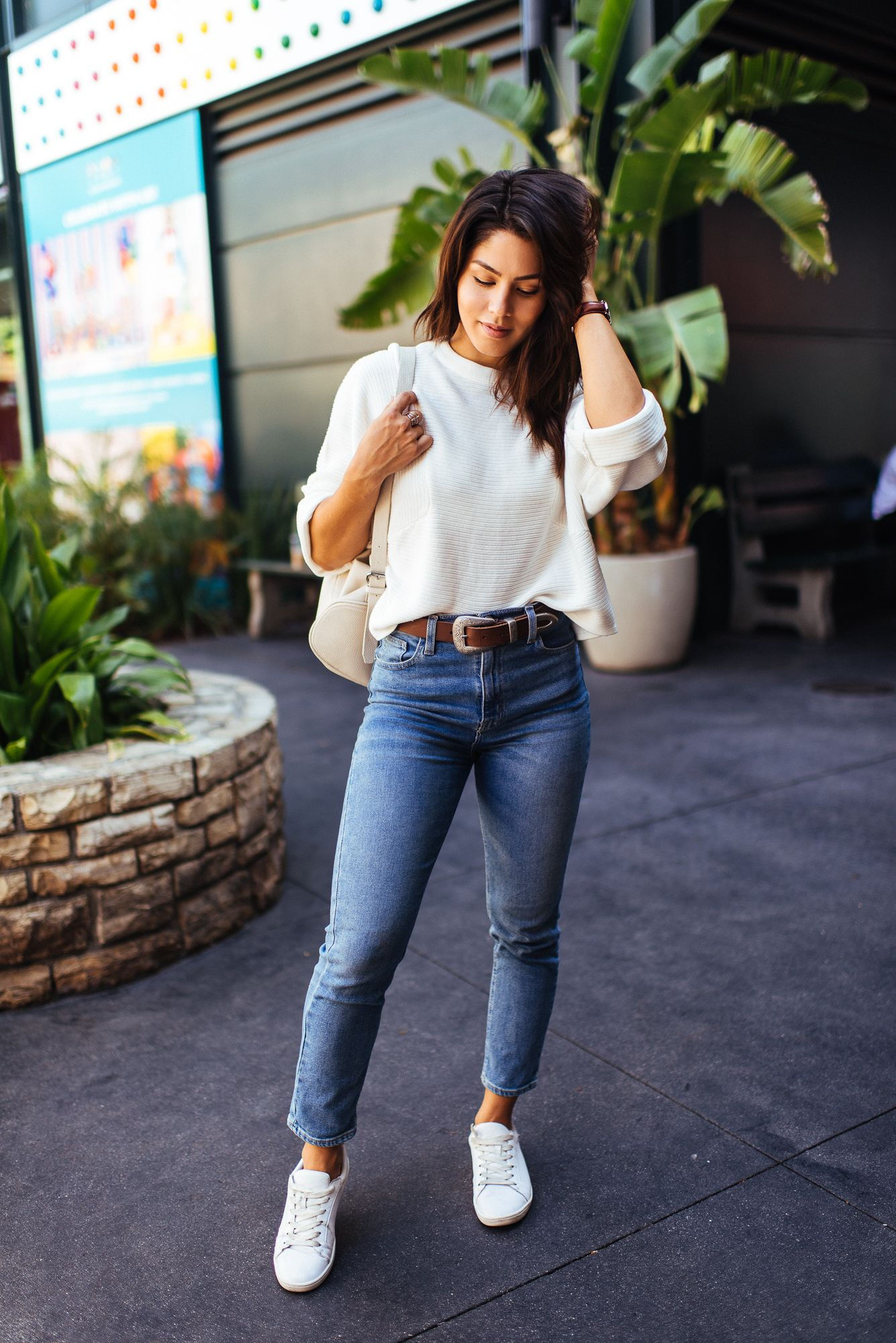 EASY DENIM | Megan Batoon | Daily outfits, Minimal outfit, Boss lady outfit