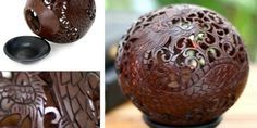 16 Contoh Kerajinan Tangan Dari Batok Kelapa Luar Biasa Apel