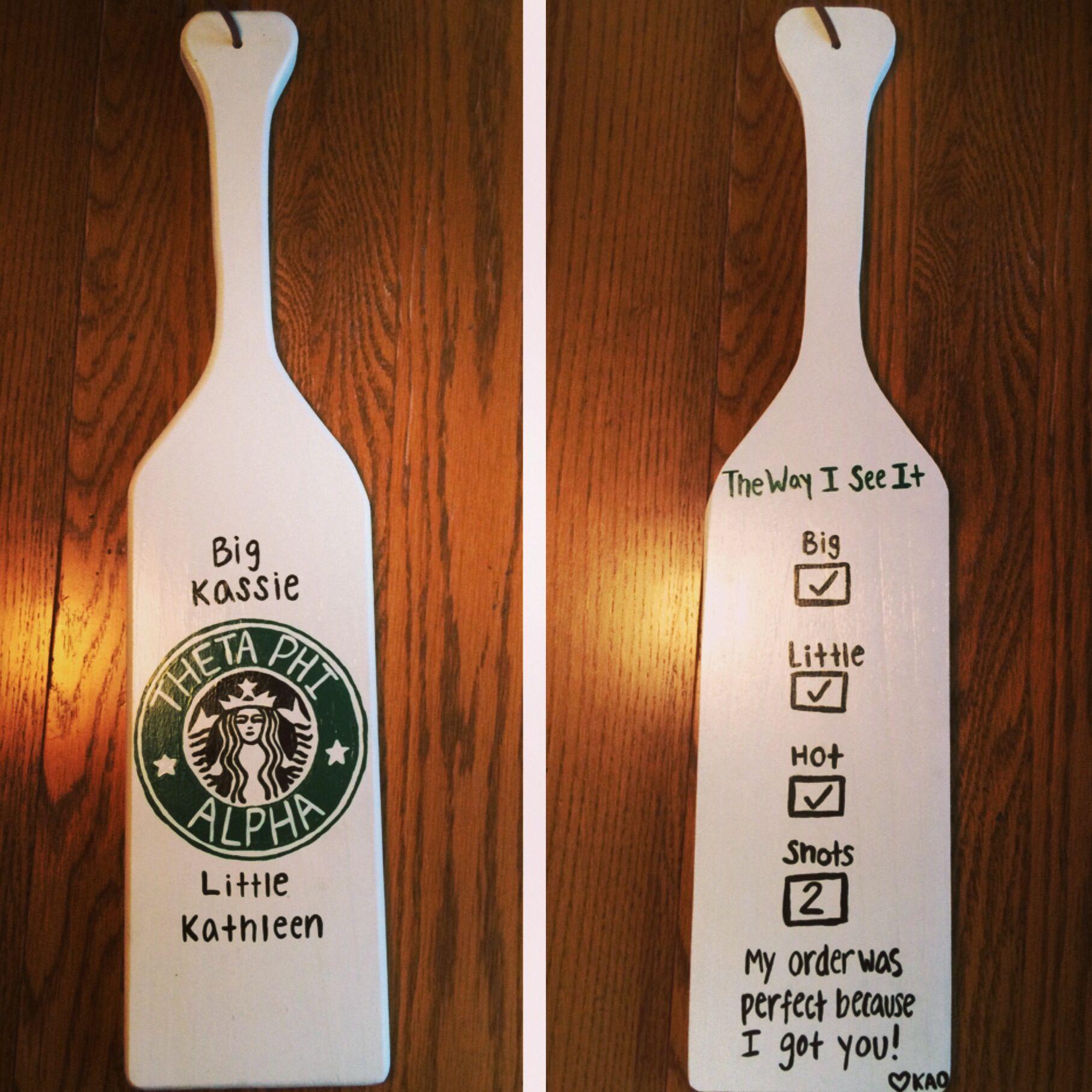 84 Sorority Paddles For Inspiration  Starbucks Giveaway -3913