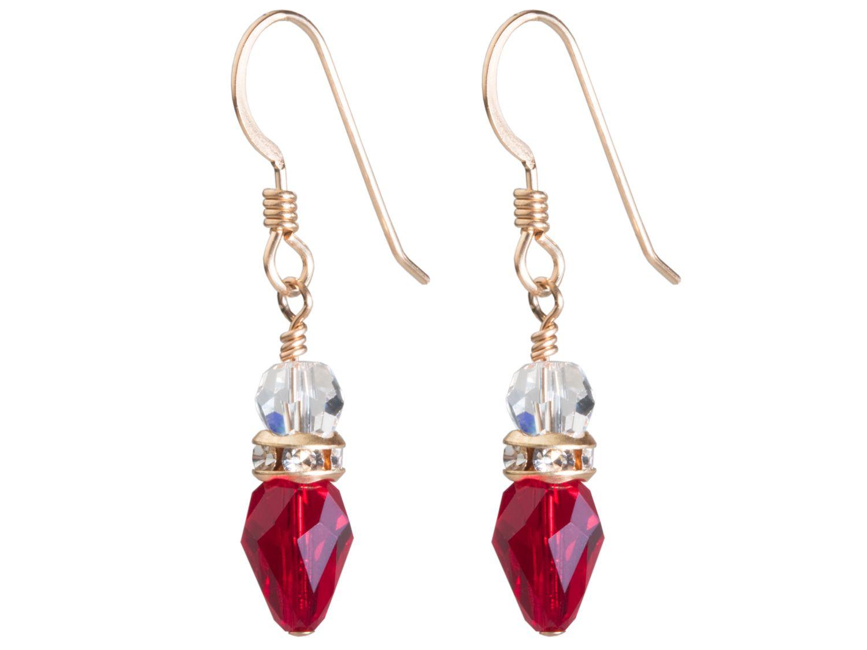 Christmas Light Earrings