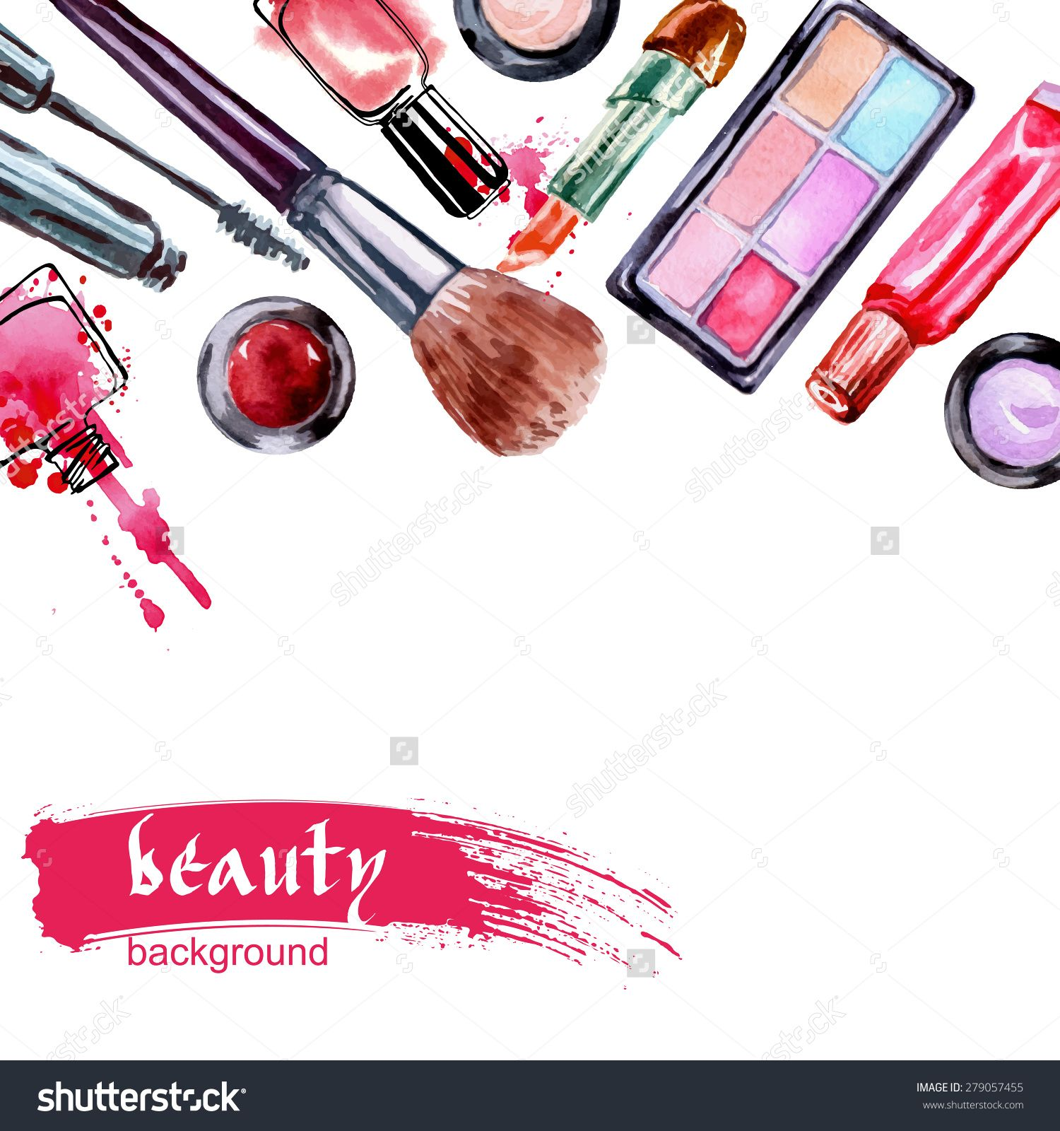 Pin By Madeline Martz On Jewerly Makeup Wallpapers Makeup Illustration Makeup Artist Logo