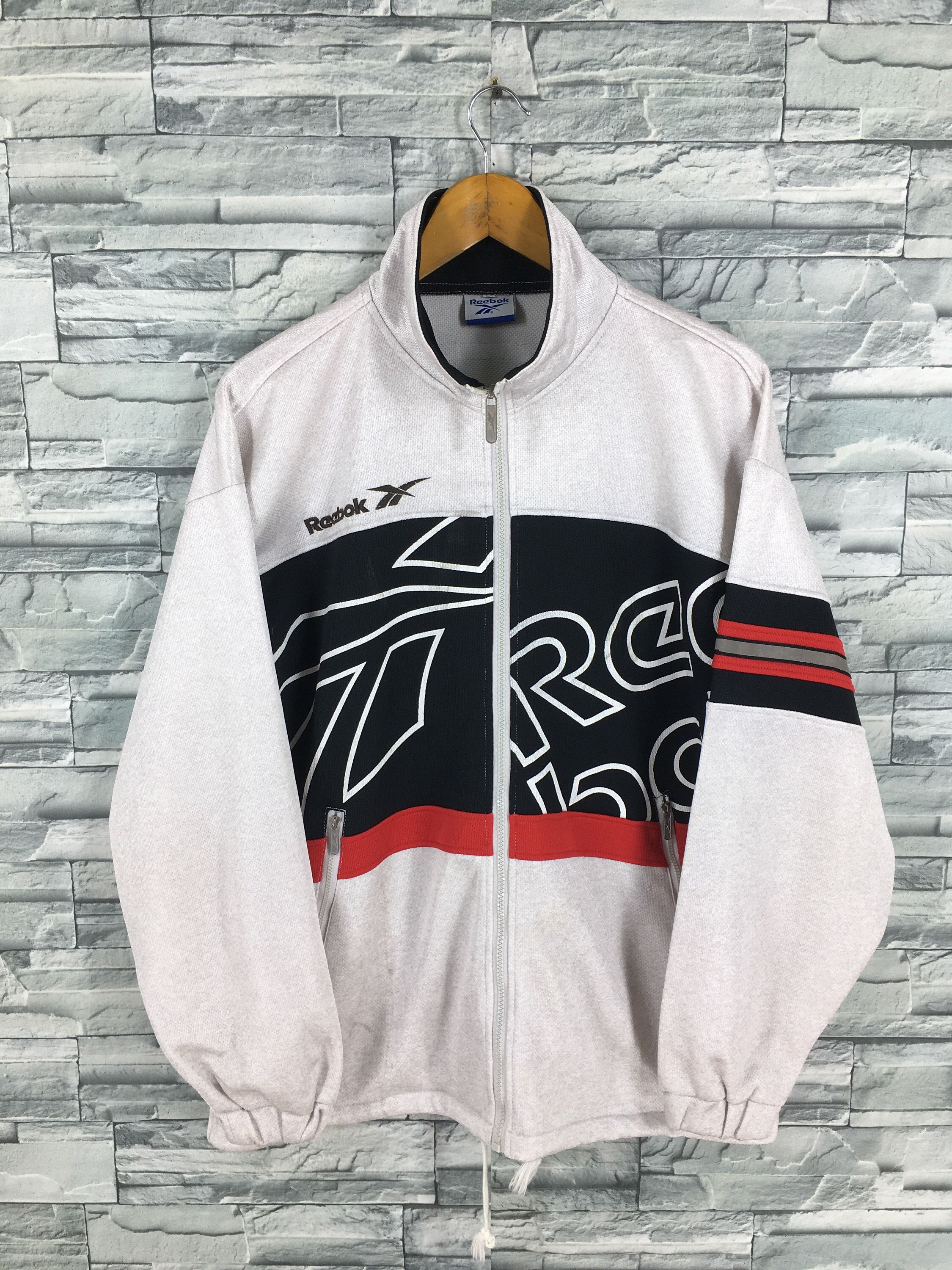 Excited To Share The Latest Addition To My Etsy Shop Reebok Sports Track Top Large Multicolor Vintage Reebok Vintage Reebok Reebok Clothes Adidas Jacket Mens [ 3000 x 2250 Pixel ]